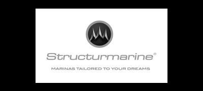 Logo structure marine